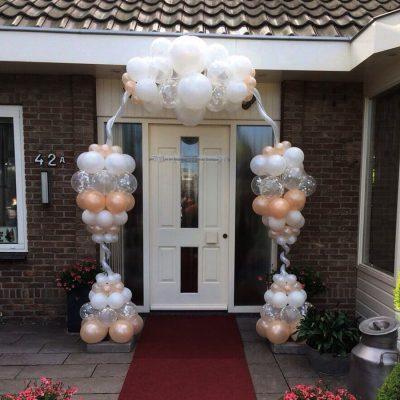 Ballondecoratie - Onze fantasy ballonnenboog is uniek door het gebruik van modeleerballonnen en verschillende latexballonnen