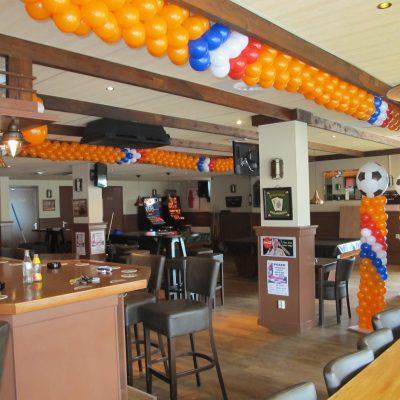Ballonnendecoratie - Ballonnenstreng/ballonnenslinger gemaakt van 5 inch ballonnen