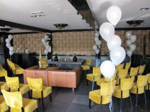 Ballonnendecoratie - Standaard ballonnensetje bestaande uit vijf heliumballonnen