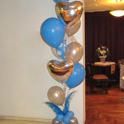 Ballonnendecoratie - Op maat gemaakte ballonnendecoratie van latexballonnen, folieballonnen en bubble-ballonnen