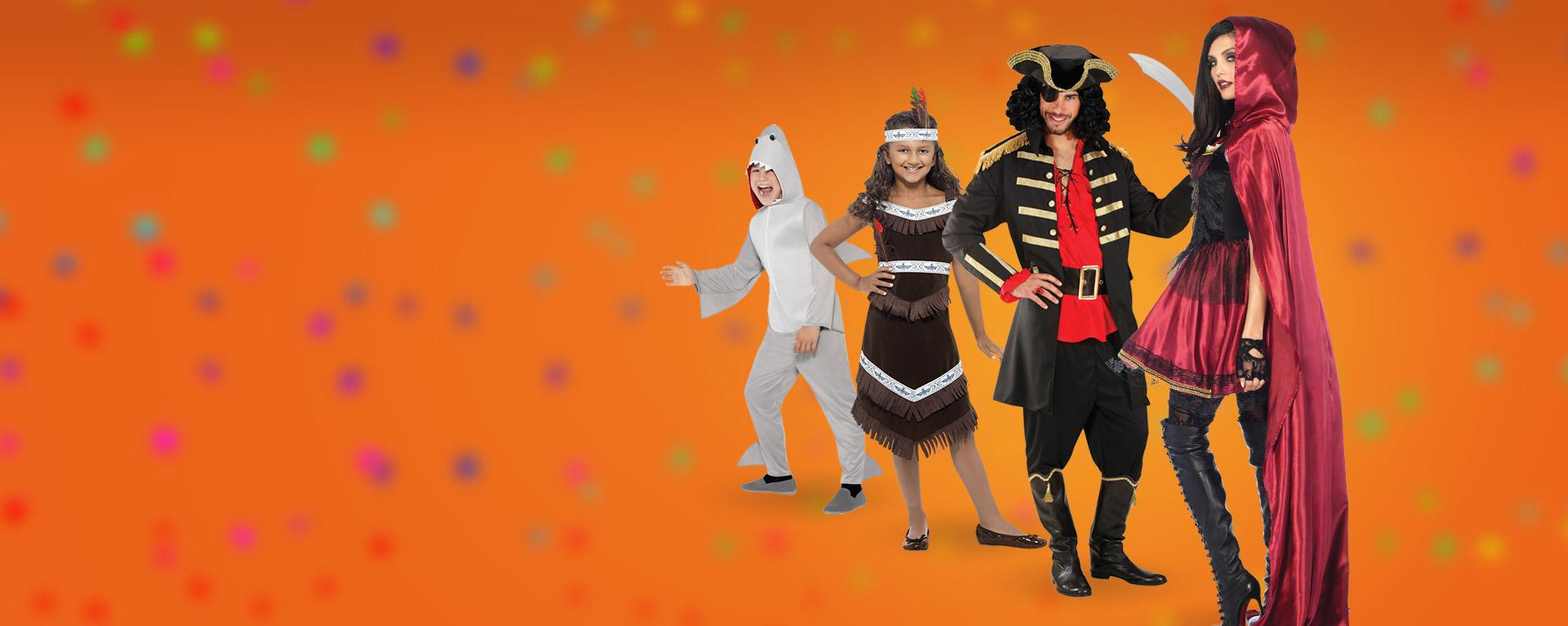 Onze feestwinkel puilt weer uit met Carnavalskleding en Carnavalskostuums!