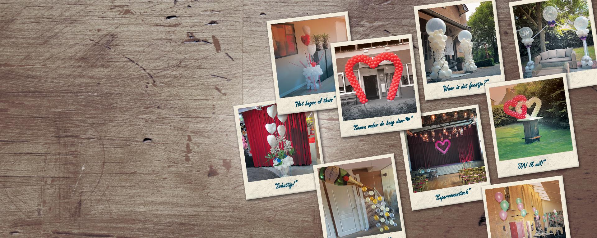 Binnenkort een bruiloft? Maak de dag nog mooier met ballondecoraties!
