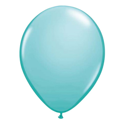 Fashion caribisch blauwe ballon