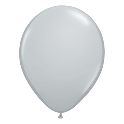 Fashion grijze ballon