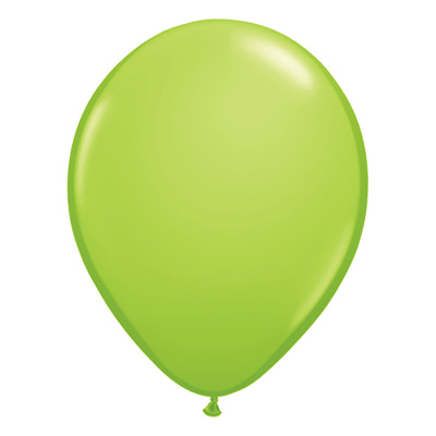 Fashion limegroene ballon