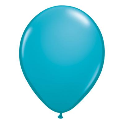 Fashion tropisch groenblauwe ballon