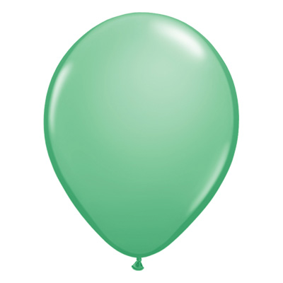 Fashion wintergroene ballon
