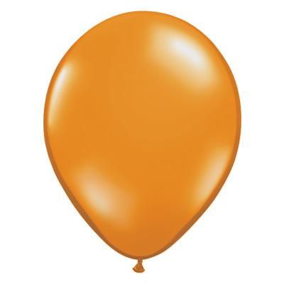 Jewel mandarijnoranje ballon