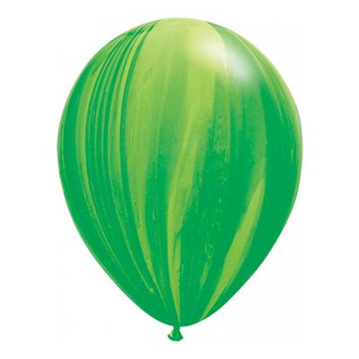 Groene marmerballon