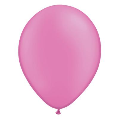 Neon-magenta ballon