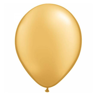 Metallic gouden ballon met parelmoerglans