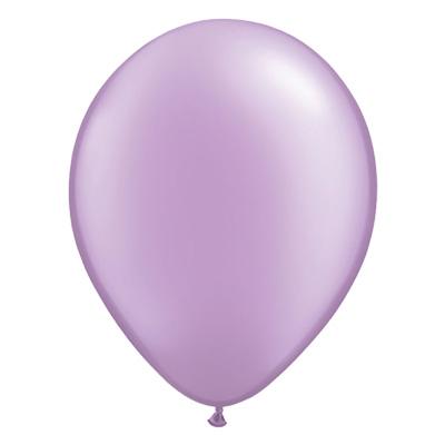 Metallic lavendel ballon met parelmoerglans