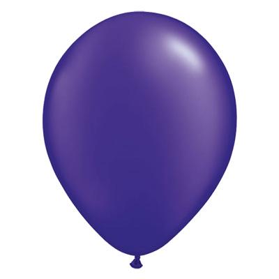 Metallic kwarts-paarse ballon met parelmoerglans