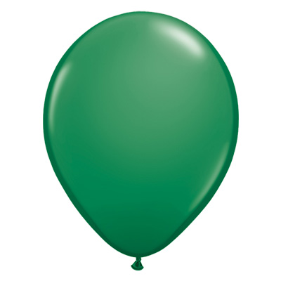 Standaard groene ballonkleur