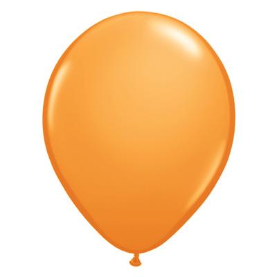 Standaard oranje ballon