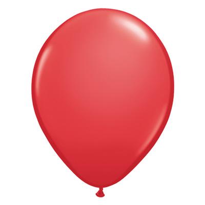 Standaard rode ballon