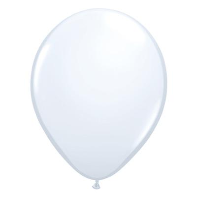 Standaard witte ballon