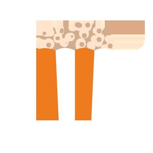 Verhuur van traktatiemachines zoals popcornmachines!