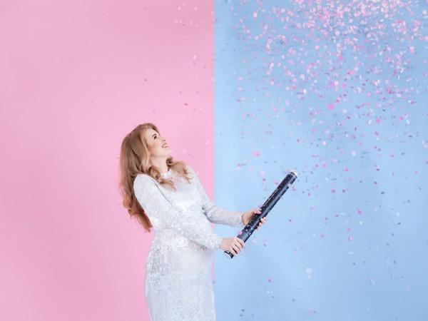 gender reveal confetti kanon